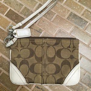 Coach  wrist bag